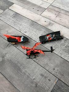 Corgi 267 batman batmobile & batboat 107 & 925 batcopter restoration joblot
