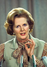 Margaret Thatcher Early 80's Colour POSTER