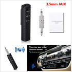 Wireless Bluetooth Receiver 3.5mm AUX Car Stereo Audio Music Adapter Handsfree