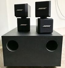 Bose Acoustimass AM-5 System 100 WATTS 4 OHMS Subwoofer & 2 Satellite Speakers