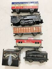 Vintage Estate Lot of Train Carts MARX MAR LINES