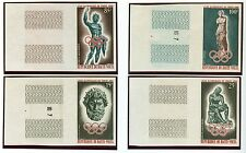 Upper Volta Olympische Spiele Olympic Games 1964 Imperforated set MNH