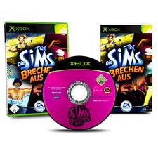 Xbox Spiel Die Sims Brechen Aus in OVP mit Anleitung