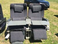Commercial Aircraft Seats Airplane first class  Recliner Foot Rest
