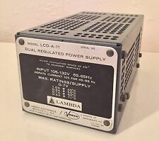 (New) Lambda LCD-A-11 Dual Regulated Power Supply