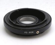 Convertitore adattatore da Canon FD lenti a Canon EOS 1Ds 5D 5DII 7D 550D 450D