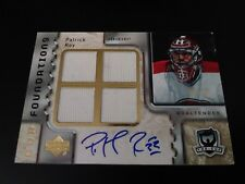 Patrick Roy 2006-07 The Cup Quad Relic Auto #9/10 Canadiens ***See Notes