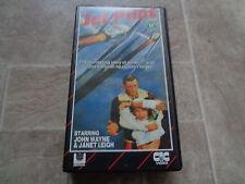 VHS Video cassette classic movie - Jet pilot - war film - John Wayne - rare