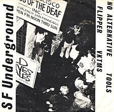"NO ALTERNATIVE - VKTMS - TOOLS - FLIPPER s.f. underground 7""EP orig US 1979 PUNK"