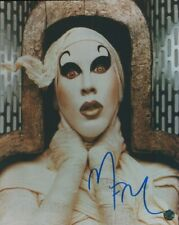 Marilyn Manson Autographed 8 X 10 Photo Singer Songwriter Actor Author COA