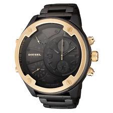 Diesel Men's Boltdown DZ7418 56mm Black Dial Stainless Steel Watch