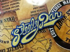 EMBROIDERED STEELY DAN ROCK BAND PATCH