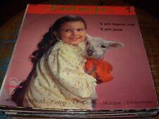 "GROFFE le petit chaperon rouge / poucet ( world music ) 7""/45 picture sleeve"