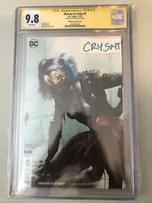 heroes in crisis 1 mattina Variant Cgc Ss 9.8 Signed By Tom King