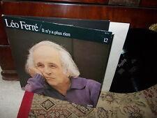 Leo FERRE: n°12 (Il n'y a plus rien 1973): Ne chantez pas la mort /  Barclay LP