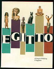 WOLDERING IRMGARD EGITTO IL SAGGIATORE 1962 I° EDIZ. IL MARCOPOLO