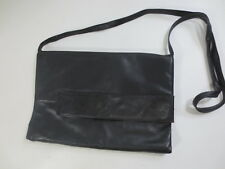 Umhänge Handtasche MEDICI creation Abendtasche Clutch Leder schwarz vintage /W69