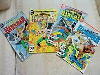 The Shadow War Of Hawkman DC 4 Part Mini-Series 1-4 1985 Comic 1st Issue May (B1