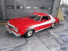 FORD Gran Torino 1976 Starsky & Hutch V8 Muscle Car V8 SP Movie Greenlight 1:18