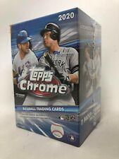Topps 2020 Chrome Baseball Blaster Box