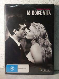 La Dolce Vita (1960) Frederico Fellini's | Anita Ekberg | Region 4 | New DVD