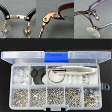 Screw Nut Nose Pad Optical Repair Assorted Box For Eyeglasses Spectacles Kit Set