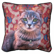 Cats Rule Tabby Pillow Pet Lovers Everywhere Enjoy this Throw Pillow Made In USA