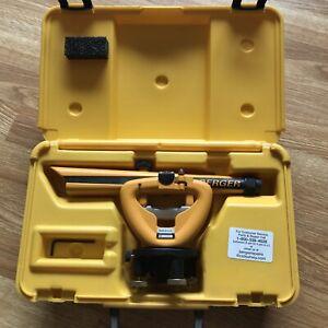 CST Berger Instruments Transit Level Model 136 w/ Hard Case