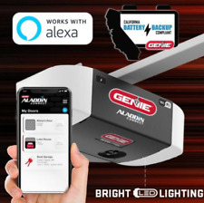 ♻️ Energy Saving LED 1HP SilentMax Ultra-Quiet Smart Garage Door Opener, Aladdin