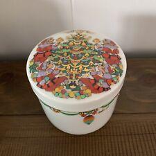 Rare Vintage Bjorn Wiinblad Christmas Lidded Box Dish Covered Rosenthal Germany