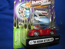 2000 SKYLINE GT-R  muscle machine Import tuner NISSAN RACING fast 1/64 red