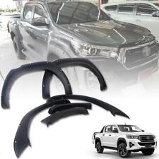 For 2018 Toyota Hilux Revo Rocco Fender Flares Wheel Arch With Black 1 Set