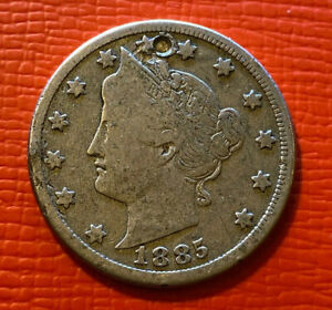 5 cents 1885