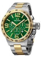TW STEEL CB63 MENS TWO TONE 45MM CANTEEN WATCH - 2 YEARS WARRANTY