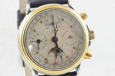 Maurice Lacroix 02981 Vintage Men's Watch Steel/Gold Complete Calendar Automatic