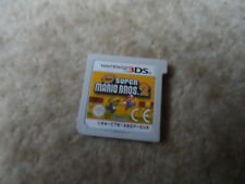 New Super Mario Bros  2 Nintendo 3DS 2DS  kids platform game brothers -Game Cart