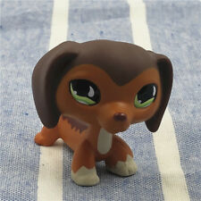 Littlest Pet Shop Collection LPS #675 BrownSavanah Dachshund Dog Birthday Gift