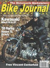 Vincent Rapide 1000 Harley Davidson XLH 500 Mach III Kawasaki H2 750 CB750K H-2