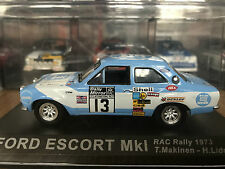 1:43 FORD ESCORT MK1 RAC RALLY 1973 MAKINEN #13 DEAGOSTINI