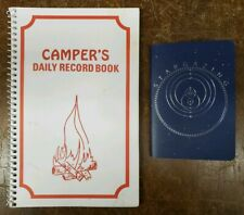 Camper's Daily Record Book and Stargazing Notebook