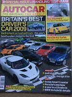 Autocar Magazine - 12 August 2009 - Audi A5 Cabrio Discovery Best Drivers' Car