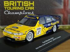 ATLAS Editions RACING FORD MONDEO ZETEC Alain Menu 2000 auto modello HR09 1:43