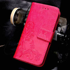 For Huawei P8 P9 P10 P20 Lite Magnetic Pattern Leather Flip Wallet Case Cover