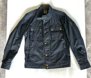 New Without Tags Belstaff Racemaster Slim-Fit IT 48/US 38 Black
