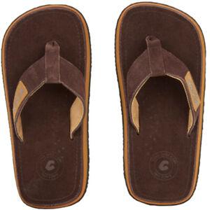 COOL Sandalen Slaps 2 LUX Slap 2021 chestnut Sandaletten Slipper Sommerschuhe