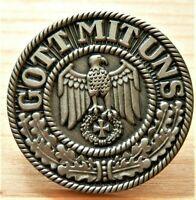Rockers , Biker Badge , motorcycle, eagle with Maltese Cross GOTT MIT ...