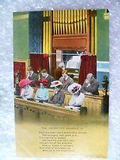 Postcard- The Volunteer Organist (3) Banforth