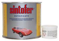 Sintofer stucco 750 ml vetrificato per carrozzeria e nautica metallo ferro