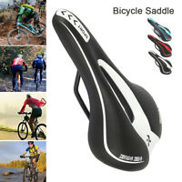 Bicycle Saddle  MTB Saddle Road Mountain Sports Soft Cushion Gel Pad Seat US