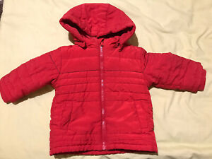 Hugo Boss Red 18 Months Coat In Great Condition